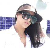 ca2f54783 Óculos de sol feminino Gucci Máscara Quadrado