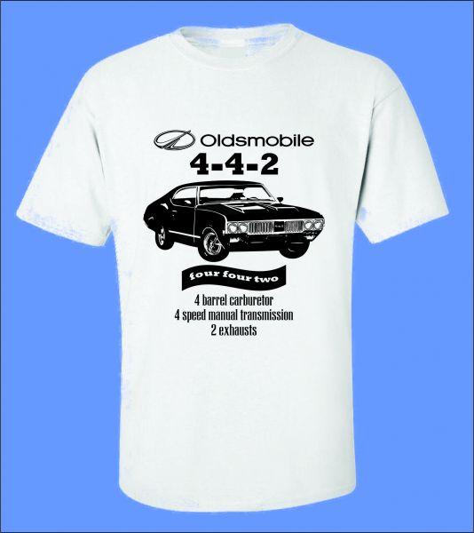 adfec69c9 Camiseta Carro Antigo Oldsmobile 442 - ROTA RETRÔ 64 Camisetas de ...