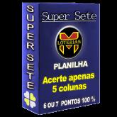 SUPER SETE ACERTE APENAS 5 COLUNAS