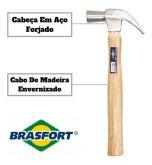 Martelo De Orelha Profissional Brasfort Polido 29mm Full