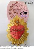 Coração de Jesus 8,5cmx 11cm  ( BL 0333 )