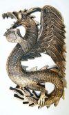 Dragão Alado de Parede