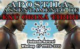 APOSTILA ASSENTAMENTO DE EXU ORIXÁ TIRIRI