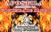 APOSTILAS CANTIGAS DA FOGUEIRA DE XANGÔ