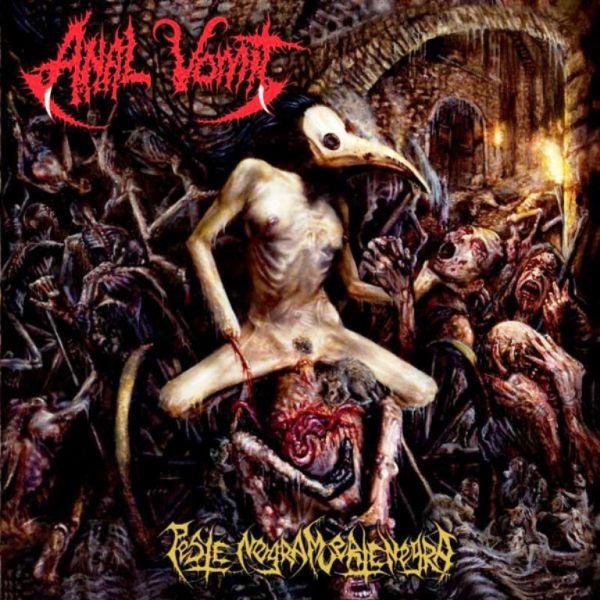 ANAL VOMIT - Peste negra, muerte negra - CD