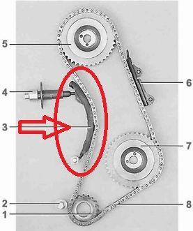 Tensor da Corrente Motor Laika 1.6 (Novo) Ref. 0433