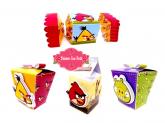 Personalizados Angry Birds com 50 unidade