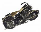 Motocicleta De Metal 34cm