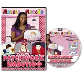 DVD - Patchwork Embutido - Volume 1