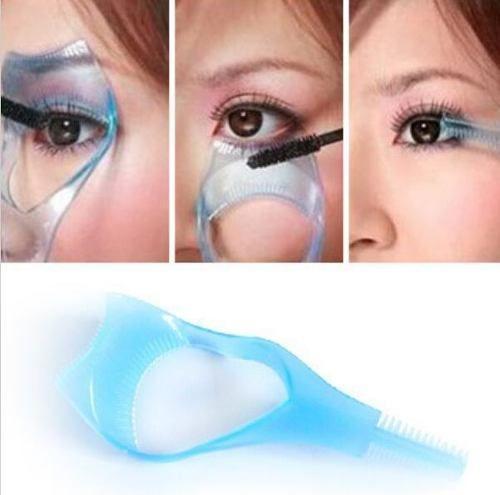 Aplicador/Protetor de Máscara de Cílios 3 em 1