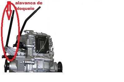 Alavanca de Bloqueio Lada Niva (usada) Ref.0924
