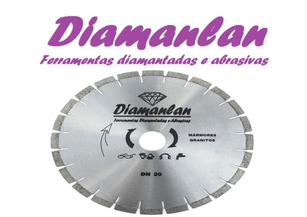 Disco Serra Mármore e Granito 350 Mm  (Não Silencioso)