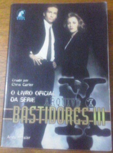 Arquivo X - Bastidores III  - Livro Oficial da Serie
