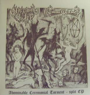 NOCTURNAL VOMIT /  EMBRACE OF THORNS - SPLIT 7