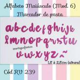 Alfabeto Minúsculo (Mod.6) Marcador de Pasta RV 239