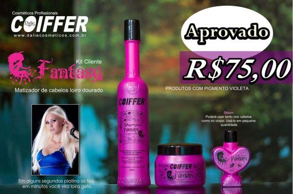 Kit Cliente Fantasy Coiffer (3 Produtos)