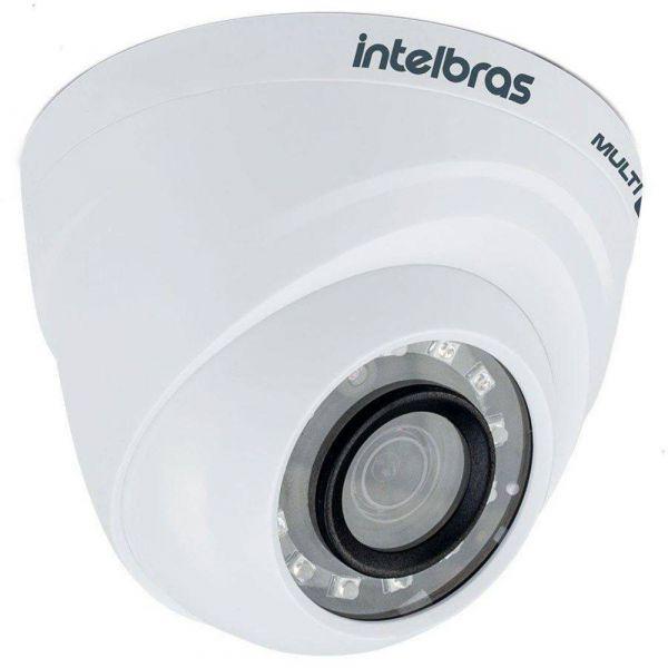Câmera Intelbras VMH 1120 D Dome Lente 2,6mm e Alcance de 20 Metros