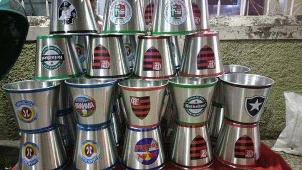 10 baldes de cerveja 5 Litros alumínio