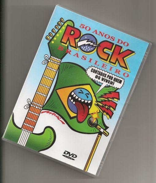 DVD - 50 Anos de Rock Brasileiro ( Duplo )