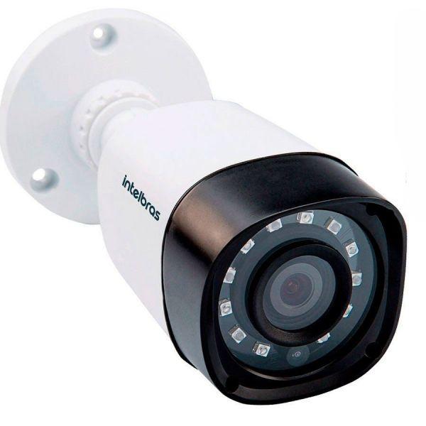 Câmera Bullet Infravermelho Multi HD 4 em 1 Intelbras VHD 1010 B G4 HD 720p 3,6mm -