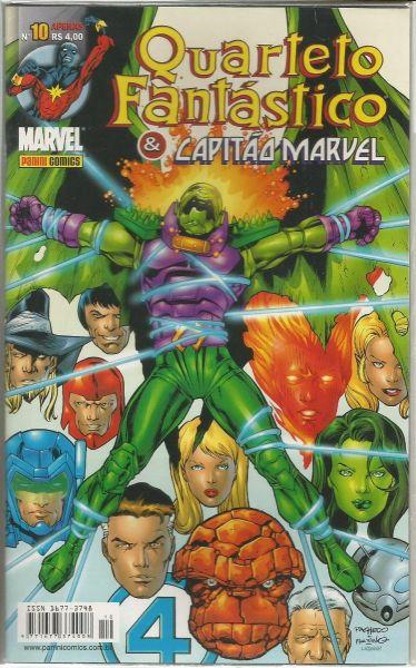 525116 - Quarteto Fantástico & Capitão Marvel 10