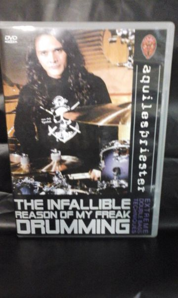 DVD - Aquiles Priester - The Infallible Reason of my Freak Drumming