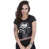 Baby Look GUFZ6 The Punisher Skull