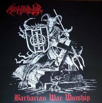 ABOMINATOR - Barbarian War Worship - Double LP  (Gatefold + Poster)