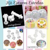 Kit Ejetores Estrelas