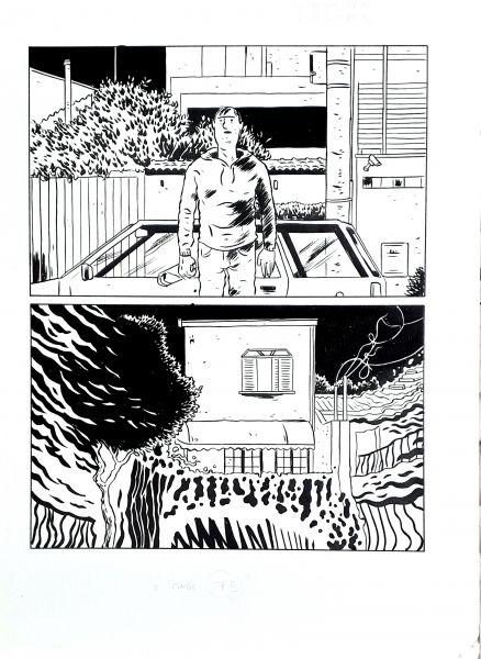 Matadouro de unicórnios, arte original, pág 79