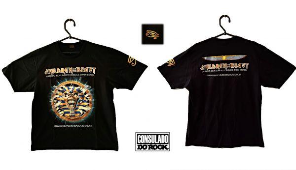 Camiseta Powerslave - PP