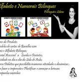 Baralho Bilingue com Alfabeto e Numerais