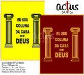 Saquitel Coluna da casa de Deus