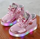 Tênis Hello Kitty com Luzes