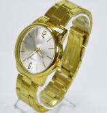 Relógios Femininos  Dourados Retro Vintage Em Promoção 10 Unidades