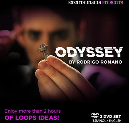 Odyssey by Rodrigo Romano (2 DVD-R) #1425
