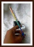 Pincel para sobrancelha unicórnio colorido Avon