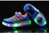 Tênis 2 Rodinhas LED