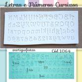 Letras e Números Cursivos