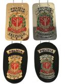 DISTINTIVO POLICIA MILITAR DE SAO PAULO