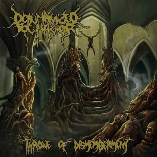 CD Dehumanized Behavior – Throne of Dismemberment