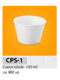 COPO DE ISOPOR MEIWA CPS1 - 110 ML