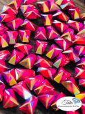 Pedra Trapezio Pink ab 50 unidades 6mm , Otima qualidade AAA Similar a Cristal