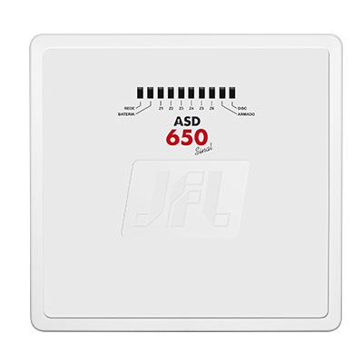 Central De Alarme Convencional Com 6 Zonas Asd-650 JFL
