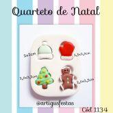 Quarteto de Natal Cód 1134
