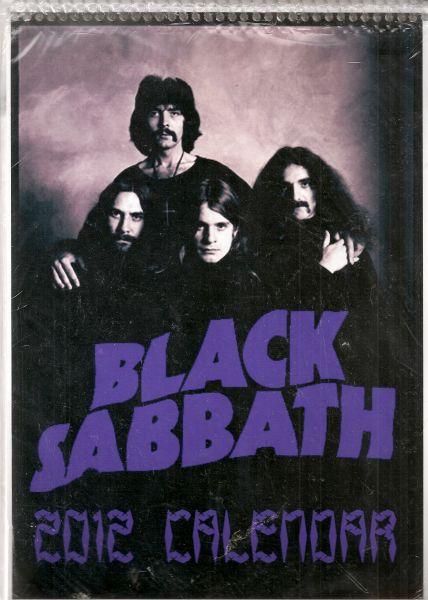Calendário Black Sabbath - 2012