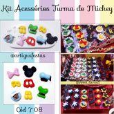 Kit Acessórios Turma do Mickey