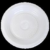 Prato Branco Descartável Raso 18cm 10un