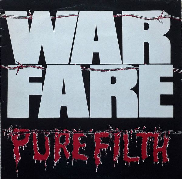 CD -  Warfare – Pure Filth