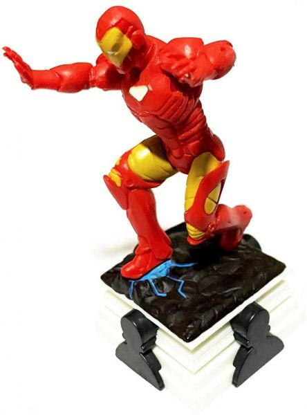 Homem de Ferro sobre Base Decorativo Peça de Xadrez